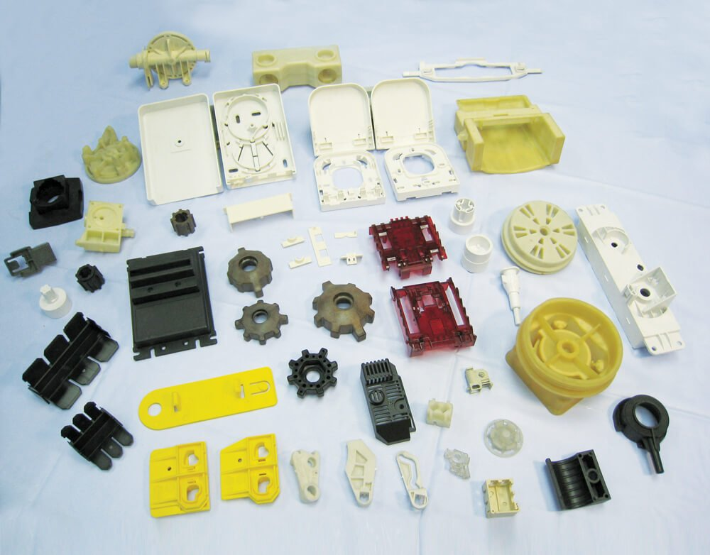Plastic injected parts