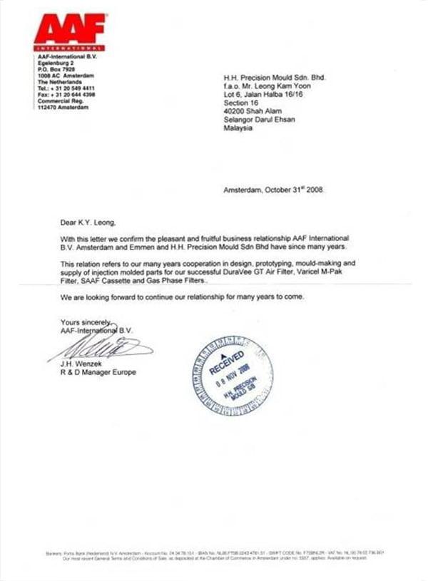 Letter-of-Appreciation-from-AAF-Netherlands